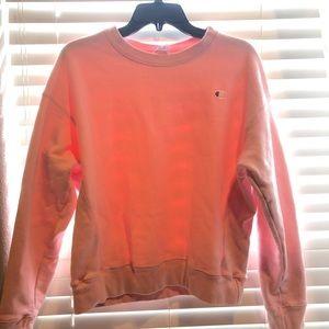 Light Pink Champion Sweatshirt